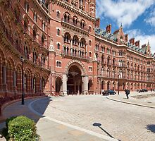 St. Pancras Station by Ray Clarke