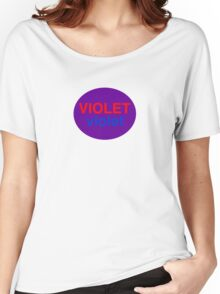 Violet # 1 Women's Relaxed Fit T-Shirt