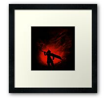 Save Midgar Framed Print