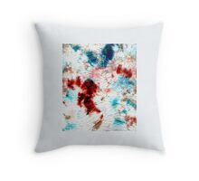 Colour Blots #1 Throw Pillow