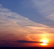 Ballyholme Sunset by Wrayzo