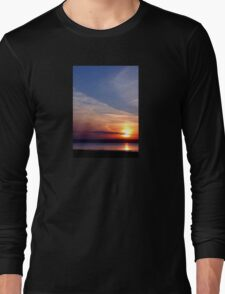 Ballyholme Sunset Long Sleeve T-Shirt