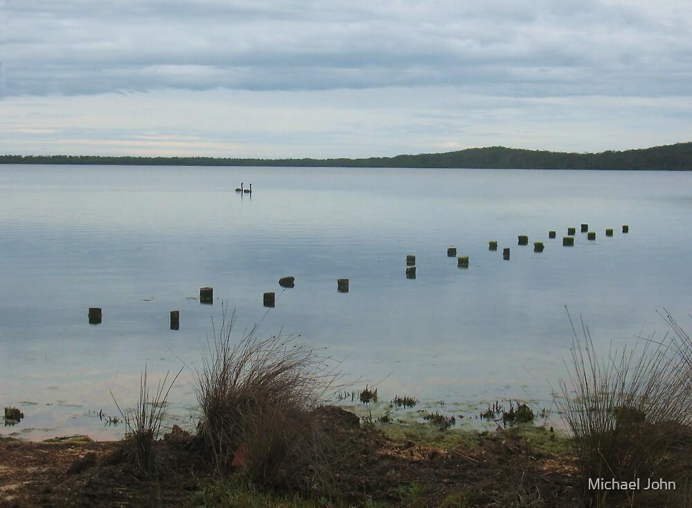 Wallagoot Lake by Michael John