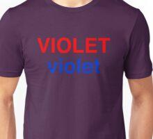 Violet # 2  Unisex T-Shirt
