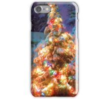 Snowy Christmas Tree iPhone Case/Skin