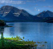 Spray Lakes by Justin Atkins