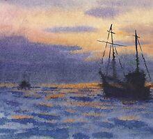 Night Fishing by serikpai