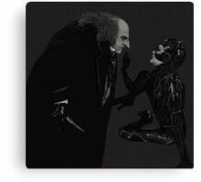PENGUIN&CATWOMAN Canvas Print