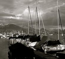 Lucerne with Rigi, Switzerland by itchingink