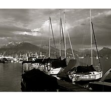Lucerne with Rigi, Switzerland Photographic Print