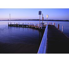 anderson inlet jetty inverloch Photographic Print