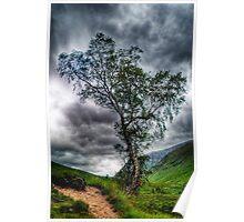 Glen Etive, The Highlands Poster