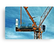 High Rise Construction Canvas Print