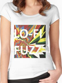 Lo-fi Fuzz Flash Women's Fitted Scoop T-Shirt