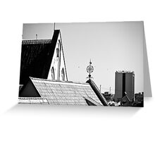 Tallinn, Old Town Greeting Card