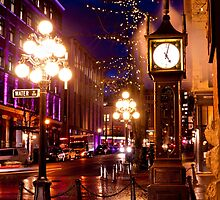 Vancouver's Steam Clock by Rae Tucker