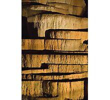 Limestone stacks Photographic Print