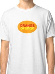 Orange # 1 Classic T-Shirt