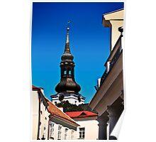 Tallinn, Old Town Poster