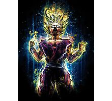 Epic Power of the Super Saiyan 2 Photographic Print