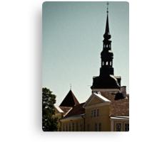 Tallinn, Toompea Canvas Print
