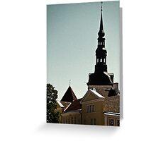 Tallinn, Toompea Greeting Card