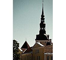 Tallinn, Toompea Photographic Print