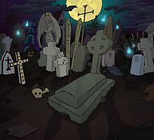 The graveyard by Kravache