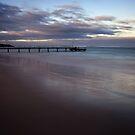 The Jetty ~ Horrocks Beach by Pene Stevens
