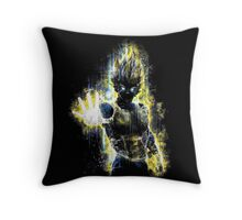 Epic Prince of Fighters Portrait Throw Pillow