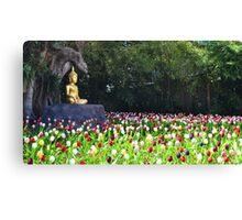 Flowers like followers Canvas Print