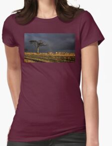 The Rihanna Tree In Tune Womens Fitted T-Shirt