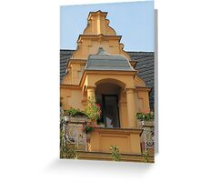 Facade Greeting Card