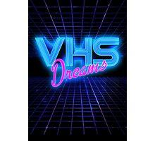 VHS Dreams Grid Photographic Print