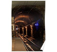 Grungy Subway Poster
