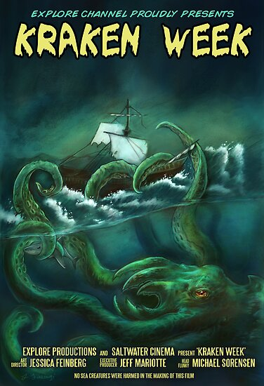 Kraken Week by Jessica Feinberg