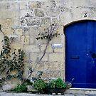 The Blue Door Gozo Malta by DeborahDinah