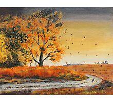 October Breezes Photographic Print