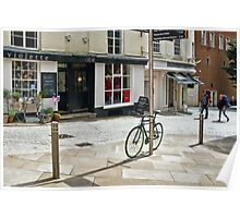 City Street ~ Exeter Poster