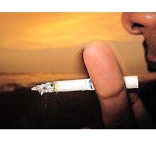 Cigarette Photographic Print