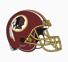 washington redskins helmet logo by kicktouchdown