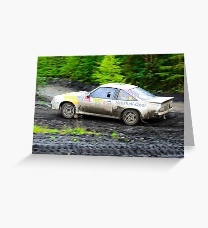 Opel Manta 400 Greeting Card
