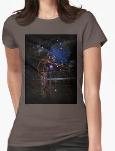 Reaching into the Future Womens Fitted T-Shirt