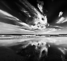 Cloudy reflection by Mark Smart