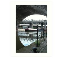 Canal Bridge - Castlefield Art Print