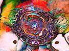 Three Layer Abstract: Lara's Theme (110817) by barrowda