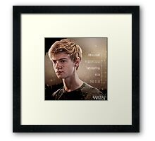 newt my hero on the maze runner the scorch trials Framed Print