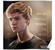 newt my hero on the maze runner the scorch trials Poster