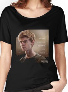 newt my hero on the maze runner the scorch trials Women's Relaxed Fit T-Shirt