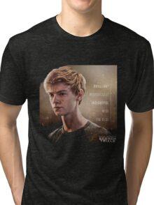 newt my hero on the maze runner the scorch trials Tri-blend T-Shirt